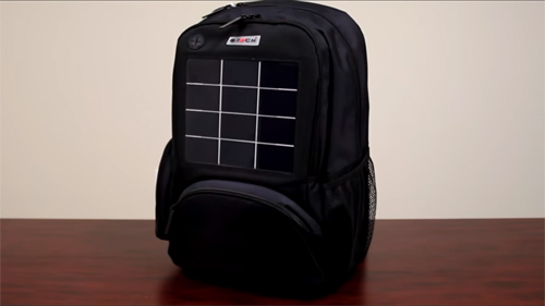 P5282 Solar Backpack